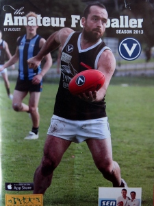 Harro on VAFA Amateur Footballer
