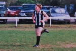 'Bazza' in his very early days at the club!