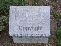Headstone of Pte Robert Thomas Scott at Lone Pine cemetery