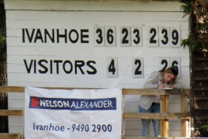 A club record high score against South Melbourne Reserves in Round 2 2015. Pic: Phil Skeggs