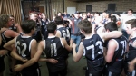Ivanhoe Under 19s celebrate their Semi-final win over UHS-VU/Flemington. Pic: Phil Skeggs