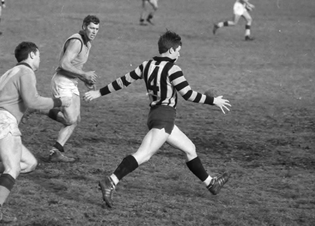 Peter Phillips playing at Ivanhoe Park in the late 60s.
